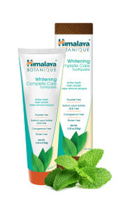 Himalaya Botanique Whitening Complete Care Toothpaste Mint 150 g |  605069200288