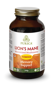 Purica Lion's Mane Powder 100 grams | 815555000579