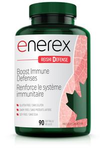 Enerex Reishi Defense 90 soft gels | 628557160901