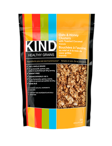 Kind Snacks Healthy Grains Oats & Honey Clusters with Toasted Coconut Bag 312 Grams | 602652183133