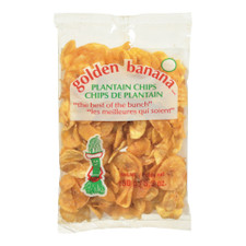 Golden Banana Plantain Chips | 063677123465