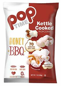 Pop Time Honey BBQ Kettle Corn | 857220006431