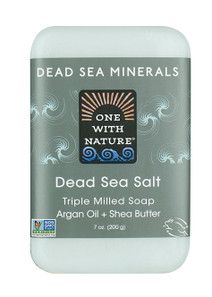 One with Nature Dead Sea Salt Bar Soap |893455000080
