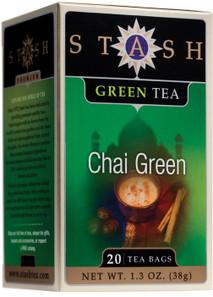 Stash Tea Chai Green Tea   077652082524