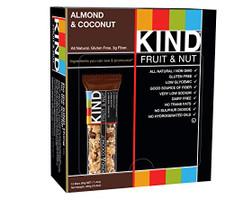 Kind Snacks Almond & Coconut Bars  12 x 40g | 602652170447