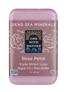 One with Nature Rose Petal Bar Soap | 893455000011