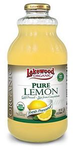 Lakewood Organic Pure Lemon Juice | 042608360940