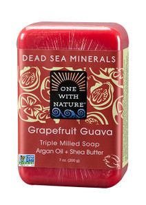 One with Nature Grapefruit Guava Bar Soap | 812281010346