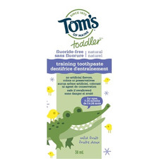 Tom's of Maine Toddler Training Toothpaste | 077326449783