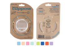 Cuppow Canning Jar Drinking Lid Regular Mouth with Straw-Tek | 713757173124