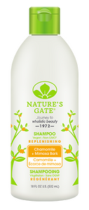 Nature's Gate Chamomile & Mimosa Bark Replenishing Shampoo   078347870105