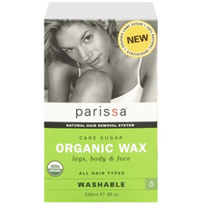 Parissa Cane Sugar Organic Wax for Legs, Body and Face | 0066427960006