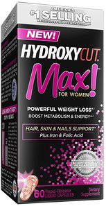 Pro Clinical Hydroxycut Max! for Women 60 Rapid Release Capsules   0631656321135