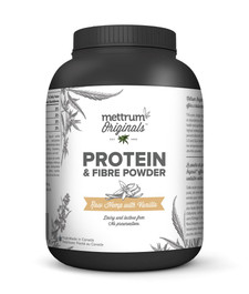 Mettrum Originals Protein and Fibre Powder Raw Hemp with Vanilla