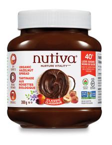 Nutiva Organic Hazelnut Spread Classic 369 grams   692752107375