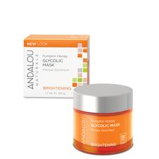 Andalou Naturals Brightening Pumpkin Honey Glycolic Mask 50g | 859975002263