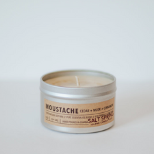 Salt Spring Island Candle Co Moustache 8 oz (227g) | 628055652137