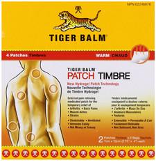 Tiger Balm Warm Patch