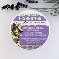 Nova Scotia Fisherman Salt-N-Sea Body Scrub Lavender & Vanilla | 883161880021