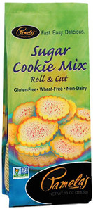 Pamela's Wheat and Gluten Free Sugar Cookie Mix