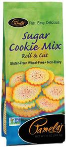 Pamela's Wheat and Gluten Free Sugar Cookie Mix | 093709221401