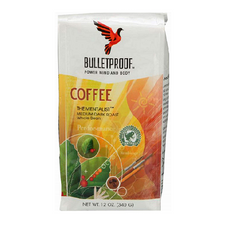 Bulletproof The Mentalist Medium Dark Roast Whole Bean Coffee (Old Label) 340g   815709021320