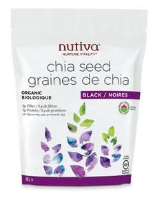 Nutiva Organic Black Chia Seeds | 692752223259