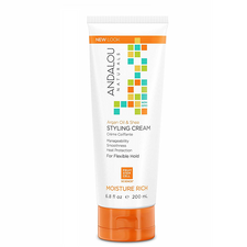 Andalou Naturals Argan Oil & Shea Styling Cream for Flexible Hold | 859975002102