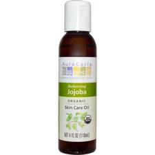 Aura Cacia Organic Jojoba Skin Care Oil | 051381306083