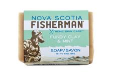 Nova Scotia Fisherman Fundy Clay & Mint Soap | 883161400038