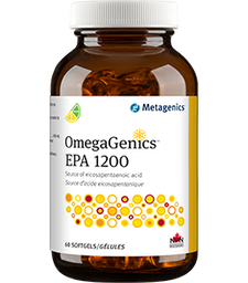 Metagenics OmegaGenics EPA 1200 Lemon-Lime Flavour 60softgels | 755571940261