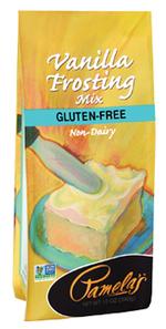 Pamela's Wheat and Gluten Free Vanilla Frosting Mix | 093709208808