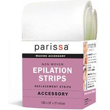 Parissa Epilation Strips Non Woven Replacement Strips 9 x 3 inches | 0066427589009