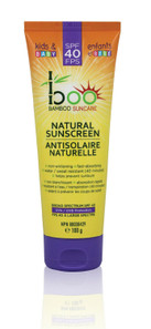Boo Bamboo Kids and Baby Natural Sunscreen with Bamboo Extract SPF 40 | 776629100253