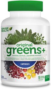 Genuine Health Greens+ Original 120 capsules| 624777000041