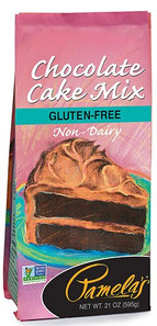 Pamela's Wheat and Gluten Free Chocolate Cake Mix |093709204404