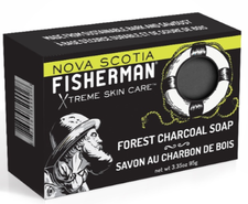 Nova Scotia Fisherman Forest Charcoal Soap 95 g | 883161770018