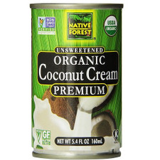Native Forest Organic Coconut Cream Unsweetened | 043182002073
