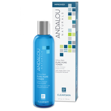 Andalou Naturals Clear Skin Willow Bark Pure Pore Toner | 859975002478