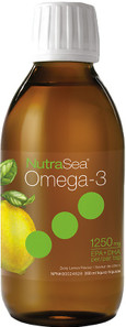 NutraSea Omega-3 EPA & DHA 1250mg Liquid Zesty Lemon 200ml | 850652000015