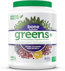 Genuine Health Greens+ Bone Builder 442g Blackberry   624777003042