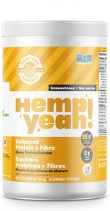 Manitoba Harvest Hemp Yeah! Balanced Protein + Fibre Hemp Protein Powder - Unsweetened 454g   697658000089