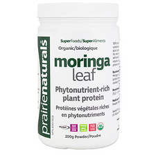 Prairie Naturals Organic Moringa Leaf Powder 200 g | 067953006312