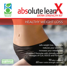 Genuine Health Absolute LeanX Extra Strength Kit (DISCONTINUED)