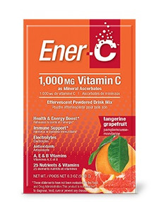 Ener-C 1000mg Vitamin C Tangerine Grapefruit Pack | 873024001038