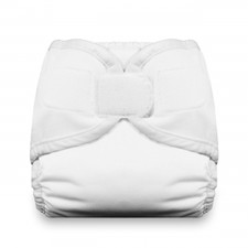 Thirsties Diaper Cover Hook and Loop White | 812087018355 | 812087015101 | 812087015279 | 812087015446 | 812087015613
