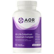 AOR All-Life Colostrum 500mg 120 Vegi-Caps | 624917042955