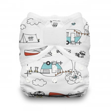 Thirsties Duo Wrap Hook and Loop Diaper Happy Camper | 816905021190 | 816905021176