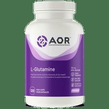 AOR L-Glutamine Caps 120 Veg Capsules | 624917041002