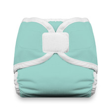 Thirsties Diaper Cover Hook and Loop Aqua | 812087018317| 812087015064 | 812087015231 | 812087015408 |812087015576 |